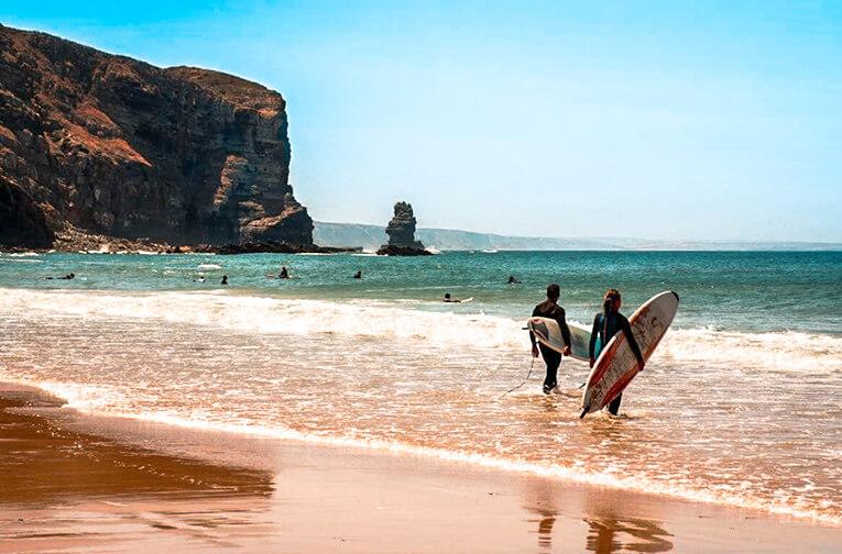 Transfers com prancha de surf